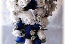 Wedding Flowers Bridal BOUQUET Roses Set