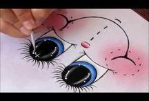 malování obličejíčků
