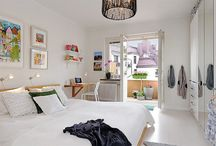 White bedroom? / Thinking about a white bedroom with accessories providing the colour
