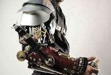 Steampunk Armor / Find us on Facebook and at http://www.meetup.com/ABQ-Steampunk-Society/ and our forum http://abqsteampunksociety.boards.net/ Also on Tumbler and Twitter