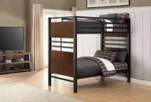 Boy's Room bunk bed Makeover Decor