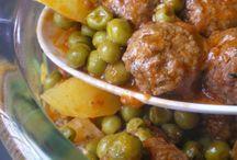 Légumes et viande