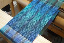 Kudonta kangaspuilla/weaving