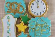 *New Year Cookie Ideas