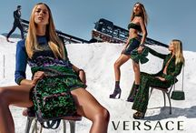 Versace Spring Summer 2016 Advertising Campaign / The new ‪#‎Versace‬ SS16 advertising campaigns capture the empowerment and individuality that define Versace today. / by Versace