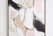 картина в пастели абстрактное настроение