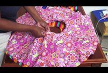 Videjka / šití sukýnky pro děti