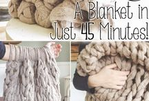 Knit a Blanket...homemade