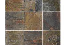 Madras Multi Color Slate Tile / Hardness: Medium Sealer: Recommended Application: Inside Walls, Inside Floors