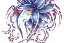 Tattoo / Tattoo fiori