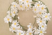 Hande made цветы