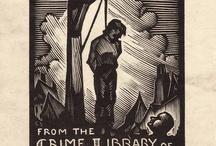 Exlibris / Bookplates - crime