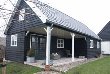 tuinhuis / gastenverblijf, tuinhuis, sauna