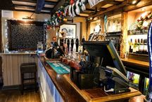 The White Horse - Shere - Surrey. Historic Pubs of Surrey