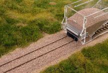 Dioramen für Eisenbahn