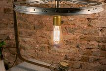 Retro Industrial Lamps Vintage Decor