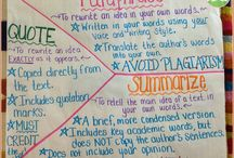 Reading Skill: Paraphrasing, Summarizing, & Quoting / Paraphrasing, summarizing, and quoting ideas and lessons.