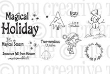 It's a Magical Season / Inspiration for this stamp set! / by My Creative Time