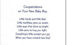 New baby verses
