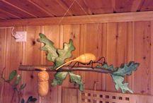 Insekten / Holzskulpturen die als Dekoration oder Dildo benutzt werden können