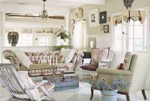Salony w stylu prowansalskim