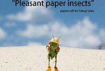 """pleasant paper insects"" / The paper insects will warm your heart. Please download free App ""Phoxs"" from AppStore. E-book ""Pleasant paper insects"" 200yen https://itunes.apple.com/us/app/phoxs/id665043611?mt=8 You can purchase the originar photograph from website.   www.phoxs.net"