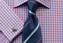 properly selected ties / Правильно подобранные цвета галстуков под цвет рубашек.