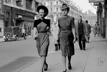 1940-49 fashion / Fashion trends in the 1940s