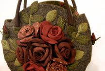 Sac roses rouges