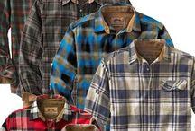 Tøj / Interessant tøj Flannel shirts, denim etc.