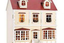 Casas de muñecas-Doll house / Miniaturas,casas de muñecas
