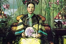 Chinese vintage posters and photographs