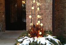 Vánoce - venkovní výzdoba