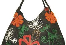 Beautiful bags / Eye catching and unusual bags.