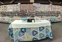 Old South Fabrics Booth at Quilt Shows