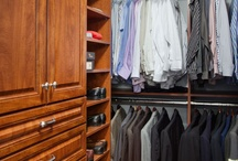 Master Closets We've Built / Here are some various closets we've built over the years.  Maybe you can get some ideas that will work in your home.