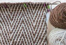 Knitting colourwork