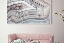 Maroon/Pink-ish Interiors