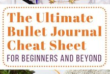 ! Beautiful Bullet Journal ! / All things related to the bujo | how to start a bullet journal | inspiration, ideas, for layouts, spreads, lists, layouts | printables, templates for trackers, doodles, goal setting