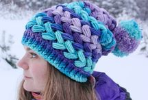 braided crochet hats