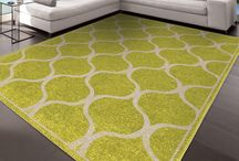 Orian's Trellis Style Rugs / Trellis is a popular trend with area rugs. We offer the geometric style in various color hues that is sure to compliment any style of home décor! #trellis #geometric #arearug #orianrugs