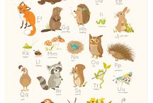 woodland - animal cartoon