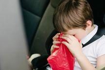 Voyage d enfant mal transports