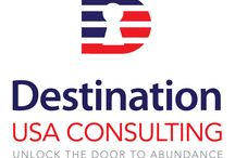 Destination USA Consulting / COMING TO AMERICA? WE CAN HELP! We custom tailor plans to bring clients from around the world to the United States.