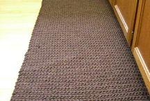 Knitting carpet