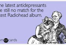 Radiohead stuffs! I love Radiohead!!!