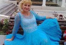 Платье мохер