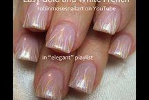 French/Elegant/Classy Nails / by Kenzie