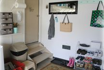 We need a mud room! / Ideas to organize our outdoor to indoor transition.  / by Alisha Nichols