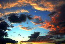 clouds / nuvole, cieli e poesia